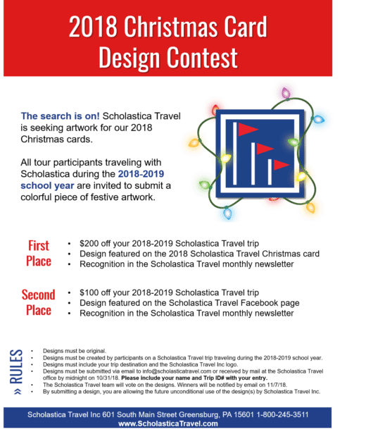 Christmas Card Contest Announcement